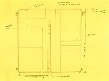 文具王手帳のイメージ図