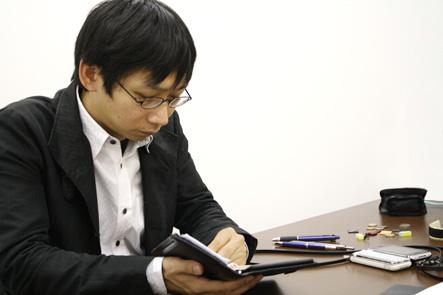 手帳撮影会 文具王チェック