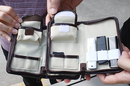デジハリ大学12 USBメモリケースサンプルのマジックテープ
