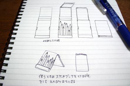 コーリン色鉛筆06 中谷アイデア
