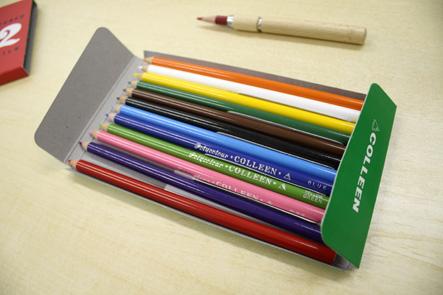 コーリン色鉛筆04 色鉛筆ケース中身