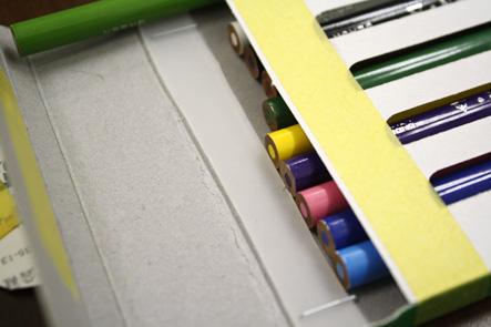 コーリン色鉛筆06 文具王アイデアiPhoneケースを利用