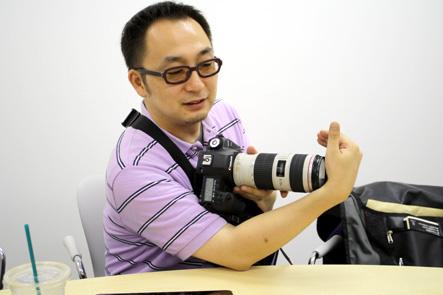 とれるカメラバッグ2回 カメラの形