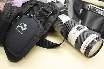 とれるカメラバッグ2回 カメラ