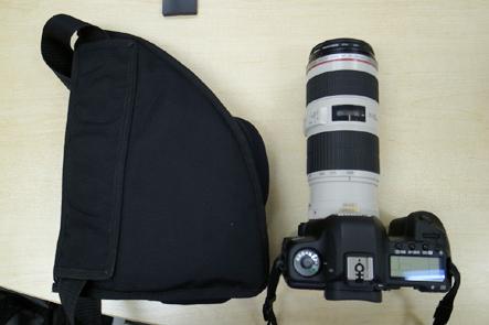 とれるカメラバッグ2回 カメラとカバン