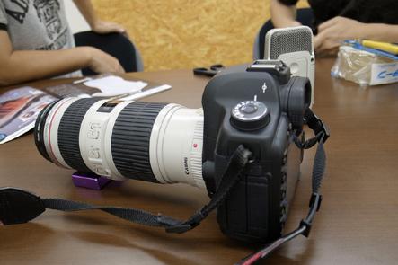 とれるカメラバッグ4回 一眼レフカメラ2