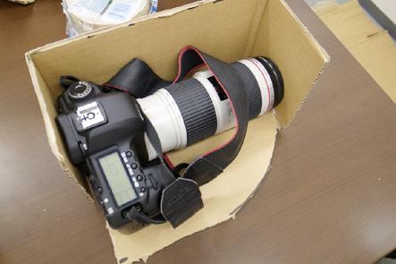 とれるカメラバッグ4回 ダンボールで作った本体