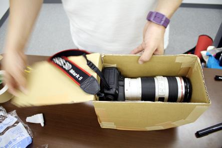 とれるカメラバッグ カバンの内側