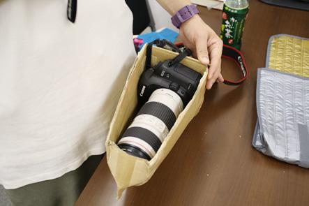 とれるカメラバッグ カバンの内側2