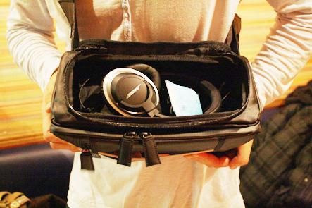 とれるカメラバッグ10回 カバンの中に収納