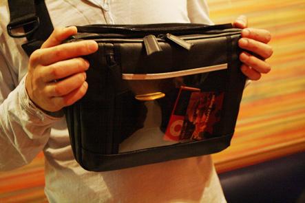 とれるカメラバッグ10回 カバンの正面