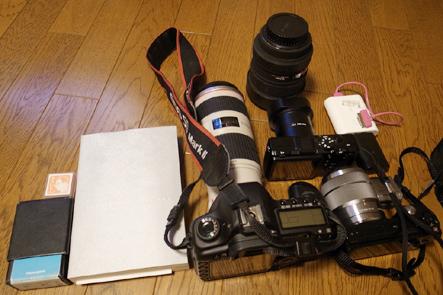 とれるカメラバッグ11回 カバンに収納した状態1