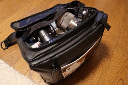 とれるカメラバッグ11回 カバンに収納した状態2