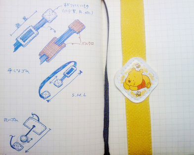 手帳カバー0607 ゴムバンドアイデア1