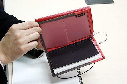 超整理手帳4回 ポケットに収まるA6手帳カバー1