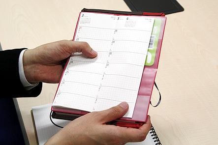 超整理手帳4回 ポケットに収まるA6手帳カバー3