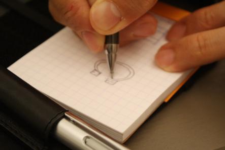 手帳カバー0603 ペンホルダー2