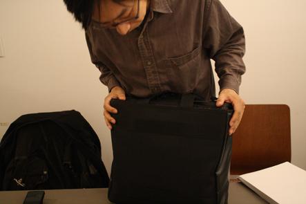 ノートパソコン用バッグのサンプル第2弾