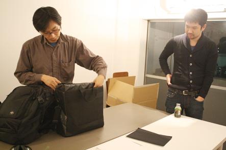 ノマドワーカーバッグについて議論2