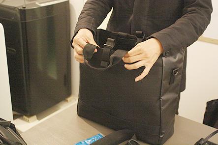 ノマドバッグのハンドルを検討