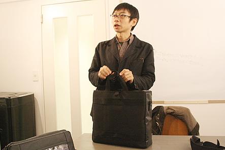 モバイラーズバッグのデザイン