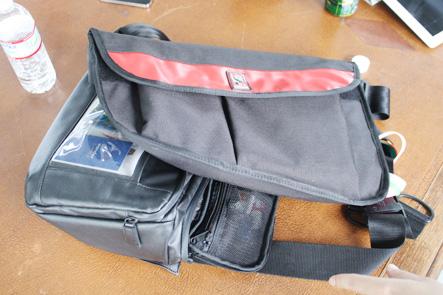 CHROMEのメッセンジャーバッグ