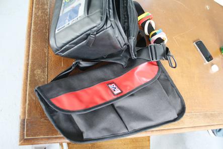 CHROMEのメッセンジャーバッグは薄すぎるのが欠点