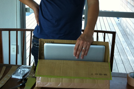 MacBook Pro15のバッグを自作7