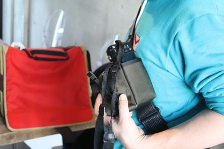 ミラーレスカメラケースの状態