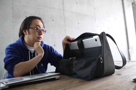 MacBook Pro15が入るカバンに満足のいしたにさん