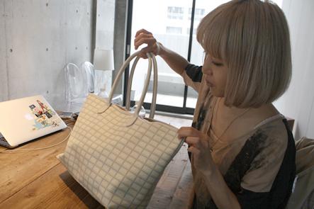 キューポット(Q-pot)のバッグ