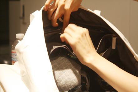 バッグのアクセサリーポケット