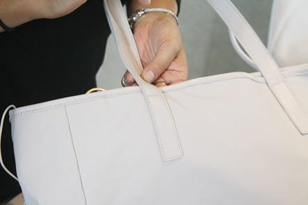 バッグの紐のステッチ1