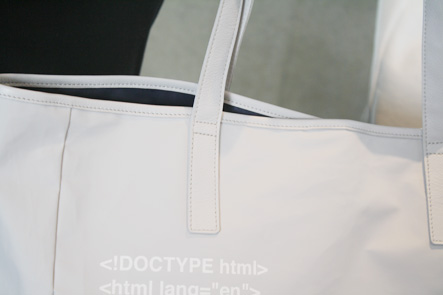 バッグの紐のステッチ2