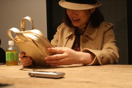 ゴールドのペンケースがやっぱりかわいい