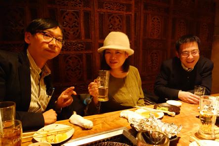 渋谷で焼肉を食うスーパーコンシューマーとだいたひかるさん