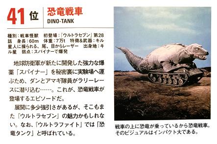 恐竜戦車 Pen+ ウルトラマン大研究