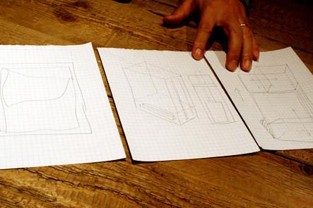 理想のリュックのデザイン案0