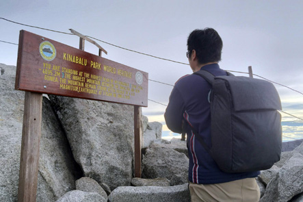 理想のリュックで登山も対応?マレーシアのコタキナバルで検証2