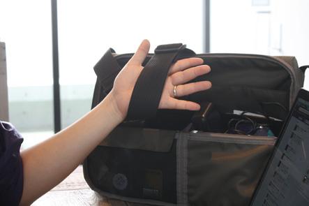 バッグのベルトに柔道帯は最高