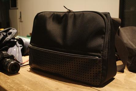 ひらくPCバッグZのセカンドサンプル黒2