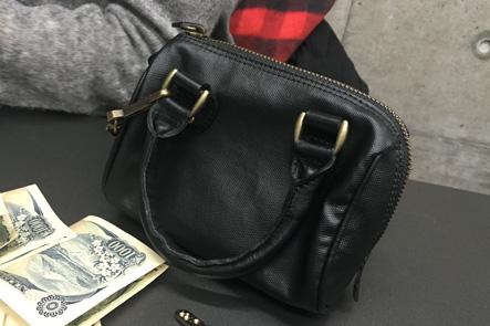 お財布ポシェットのハンドル部分が気になる
