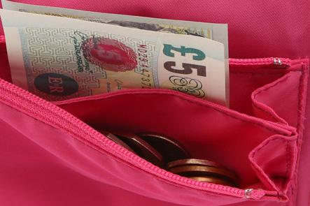 お財布ポシェットの財布