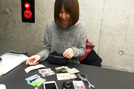 お財布ポシェットの収納量