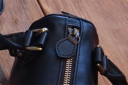 ミニボストンバッグのセカンドサンプル