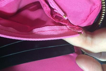 お財布ポシェットの財布部分の縫製を見直したい