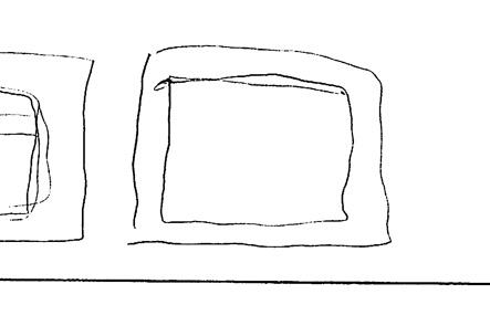 ミニボストンバッグの財布部分のデザイン案2