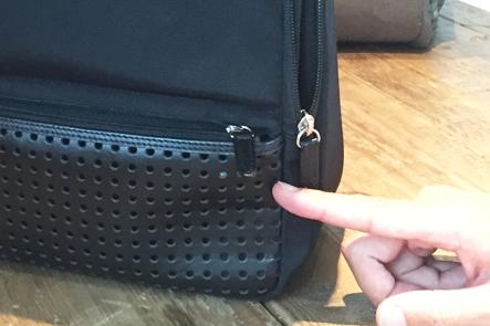 ひらくPCバッグの取っ手の革の誤発注