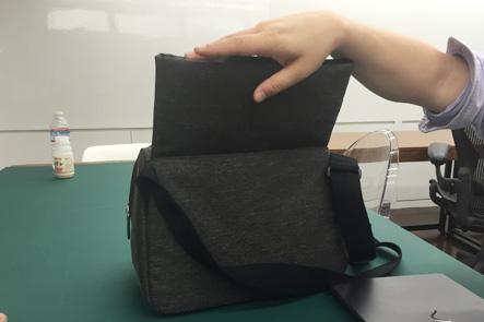ひらくPCバッグの4つ目のサンプルのPCケース