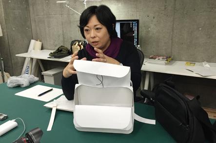 紙のバッグサンプルをバージョンアップ